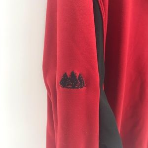 Nike Sweaters - Red Nike Golf 1/2 Zip Pullover Men's XL